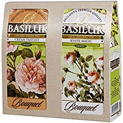 Basilur Gift Box Light Bouquet Grüner Tee 2x100 g