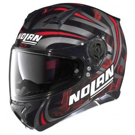 NOLAN N87 LEDLIGHT N-COM FLAT BLACK L