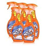 Mr Muscle Bad Total Reiniger 5in1 Orange 500 ml - Beseitigt Bakterien (5er Pack)