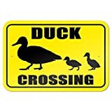 OneMtoss Schild Aluminum Sign, Duck Crossing 9