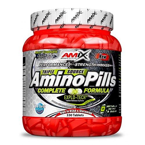 Amix Amino Pills Suplemento Dietético - 33 gr_8594159536531