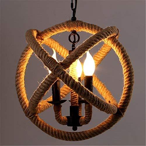 Baycheer, lampadario a 3 bracci, stile retrò, attacco e14