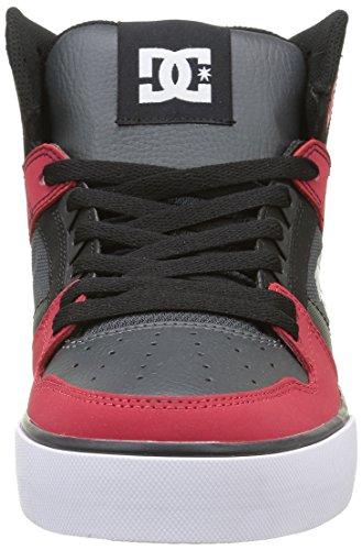 DC Universe Spartan High Wc, Baskets Basses Homme Rouge - Rot (Red/Grey/Black - Xrsk)