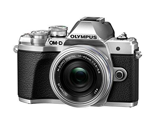 Produkttitel neu: Olympus OM-D E-M10 Mark III Systemkamera (16 Megapixel, 5-Achsen VCM Bildstabilisator, elektronischer Sucher mit 2,36 Mio. OLED, 4k Video, WLAN) Kit silber inkl. 14-42mm Objektiv silber + M.Zuiko Digital ED 40-150 mm Objektiv schwarz