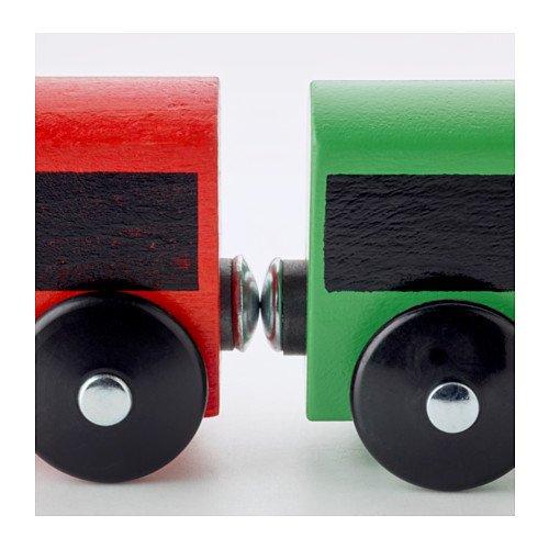 IKEA LILLABO - 20 piezas de tren conjunto básico, multicolor
