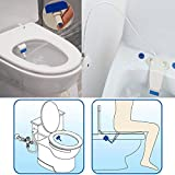 Generic HESHE Bathroom Smart Toilet Seat Bidet Intelligent Toilet Flushing Sanitary Device
