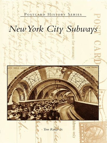 New York City Subways (Postcard History Series) (English Edition) Middle Atlantic Sr-serie