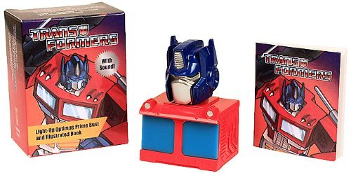 Transformers: Light-Up Optimus Prime Bust and Illustrated Book: With Sound! (2014-05-13)