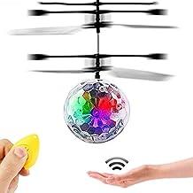 Nuevos Juguetes para 3-16 Años de Edad Chicos, GZMY LED Intermitente Bola Voladora
