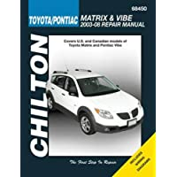 Chilton Toyota Matrix & Pontiac Vibe, 2003-2008 Repair Manual