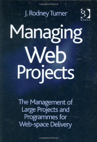 Managing Web Projects: The Management of Large Projects and Programmes for Web-Space Delivery