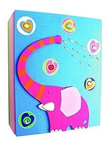 Álbum de fotos Álbum de niños Album 3D elefante de madera Kinderland