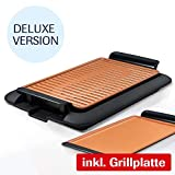 Mediashop Livington Smokeless Grill XL Deluxe Tischgrill rauchfrei Indoor...