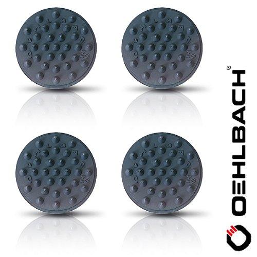 OEHLBACH Shock Absorber (4 Stück), elastisch schwarz (55038) Test