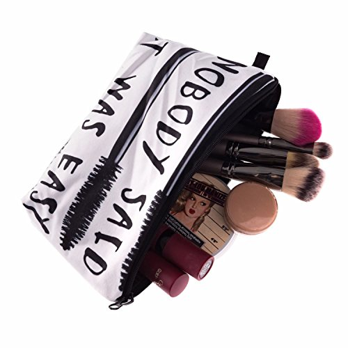 Kukubird Divertimento Nuovo Animale Foto Modello Stampa Make-up Bag Con Sacchetto Di Polvere Di Kukubird NobodySaid