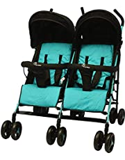 R for Rabbit Ginny and Johnny The Twin Stroller and Pram (