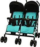 #6: R for Rabbit Ginny and Johnny – The Twin Stroller and Pram (Blue Black)