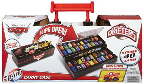 Mattel Disney Cars BCD21 - Micro Drifters Sammelkoffer