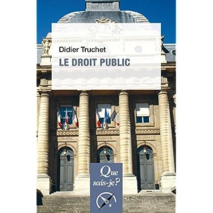 Le droit public: « Que sais-je ? » n° 1327