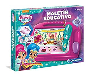 Clementoni- Shimmer & Shine Maletín Educativo, Multicolor (55212.2)