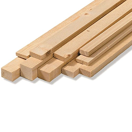 Listones pared, bruto, madera abeto, medidas: 2,5x