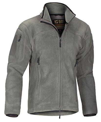 Claw Gear Jacke Milvago Fleece Jacket Solid Rock - Gear-fleece-jacke