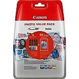 Canon CLI-551 4 original Tintenpatrone Multipack BK/C/M/Y für Pixma Inkjet Drucker MX725-MX925-MG5450-MG5550-MG5650-MG6350-MG6450-MG6650-MG7150-MG7550-iP7250-iP8750-iX6850