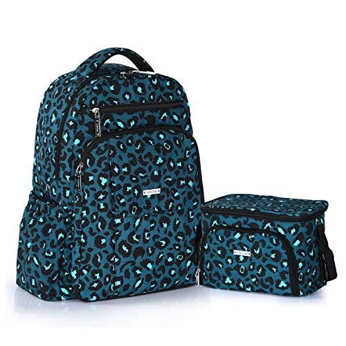 XCXDX Wasserdichte Schulterwindeltasche zweiteilig, multifunktional, große Kapazität, Mutter- und Kind-Paket Nylon Isolierung Tasche für Mode Mutter, B - Nylon-isolierung
