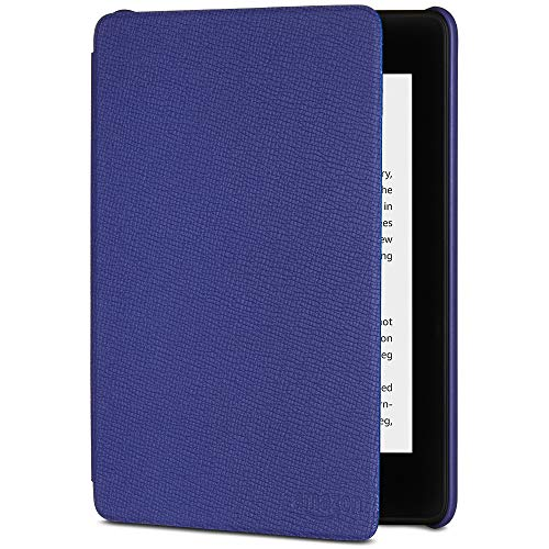 All-New Kindle Paperwhite Leather Amazon Cover (10th Gen), Purple