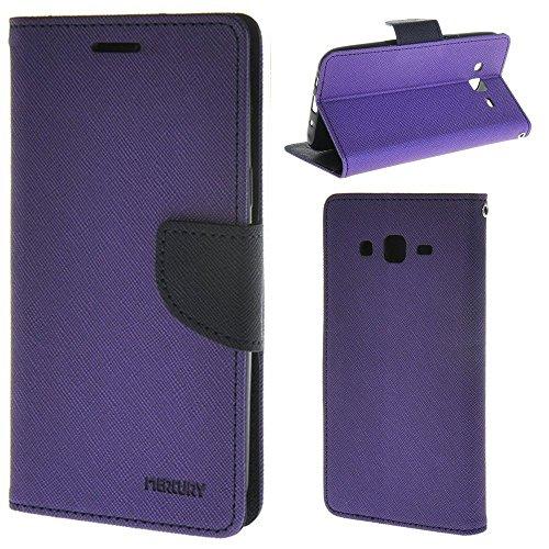 HUANGTAOLI Custodia a Portafoglio in PU Pelle Cover per Samsung Galaxy Grand Prime Value Edition G531F/DUOS G531H