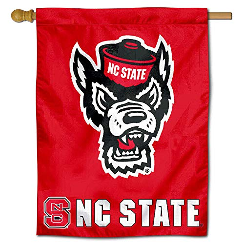 North Carolina Single (College Flags and Banners Co. North Carolina State University Wolfpack House Flagge)