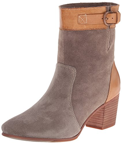 Sebago Womens Nell Ankle Boot, Dark Taupe Suede, 10 M US Dark Taupe Suede