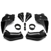 /06 Fast Pro moto nero sinistra destra tubo aspirazione aria RAM dotto per YZF1000/R1/04/