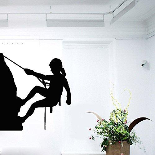 Wandaufkleber, Art Decal Decor Poster Wandtattoos Mädchen Rock Climber Sport Vinyl Aufkleber Home Schlafzimmer 72x79cm