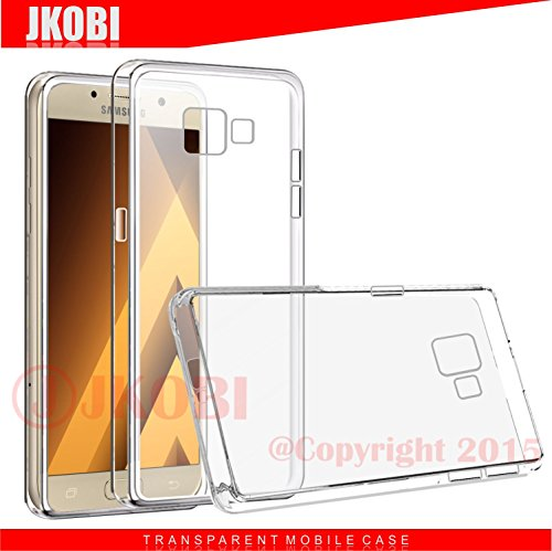 Jkobi Exclusive Soft Silicone TPU Jelly Transparent Crystal Clear Case Soft Back Case Cover for Samsung Galaxy A5 (2016) A510F - Transparent  available at amazon for Rs.210