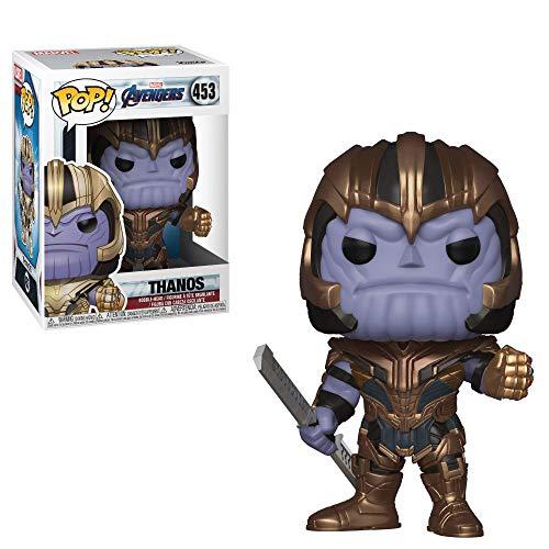 Funko- Pop Bobble: Avengers Endgame: Thanos Collectible Figure, Multicolor, Estándar (36672)