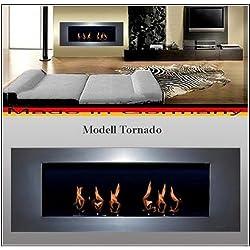 Bio Etanol Chimenea Modell Tornado (plata)