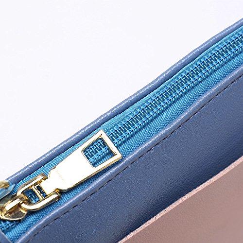 Faysting EU donna fashion borsa a tracolla donna borsa a spalla vari colori scelgliere hit colore rettangolo pelle stile buon regalo san valentino D