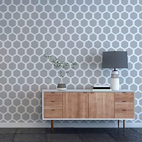 Wabe Muster Schablone Farbe Maßgeschneidert Tapete Effekt Wandfarbe Stoffe & Möbel 190 Mylar Wiederverwendbare Schablone (I / 36x54cm / Siehe Bilder) Wabe