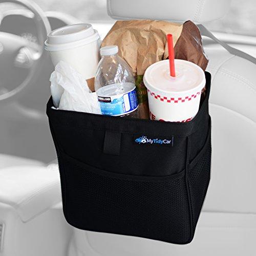 Auto Katzenstreu Kfz Mülleimer Auslaufsicher Tragbar Zusammenklappbar Aufbewahrungstasche Wasserabweisend Garbage Halter Container