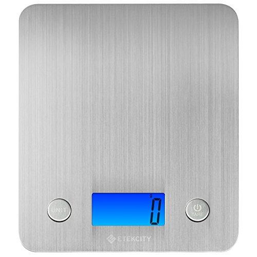 Etekcity Báscula Digital para Cocina, 5 kg / 11...