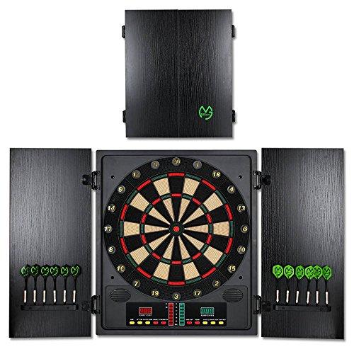 TW24 Elektronische Dartscheibe CBX-180 - Michael Van Gerwen Dartboard - Dartspiel - Dart - inkl. Dartpfeile