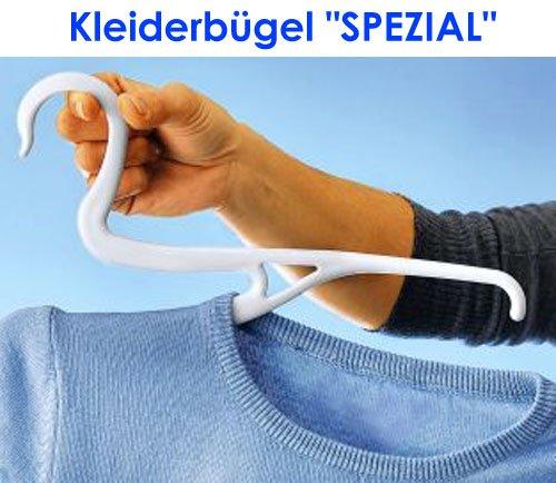 Kleiderbügel SPEZIAL 3er SET Kleiderhänger Kleiderständer clothes hangers (Spezial-online-shops)