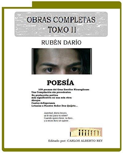 Obras Completas Tomo II: Antología Poética de Rubén Darío por Rubén  Darìo