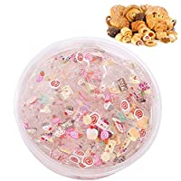 XuBa 1PC/Set 60ml Fruit Puree Fruit Slice Crystal Mud Translucent Stretchable Children Puzzle Toy