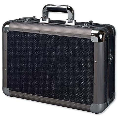 Alu-Multifunktionskoffer mit Schaumstoffeinlage/45132 ca. 46x33x16cm schwarz