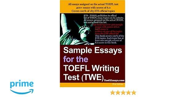 toefl model essay