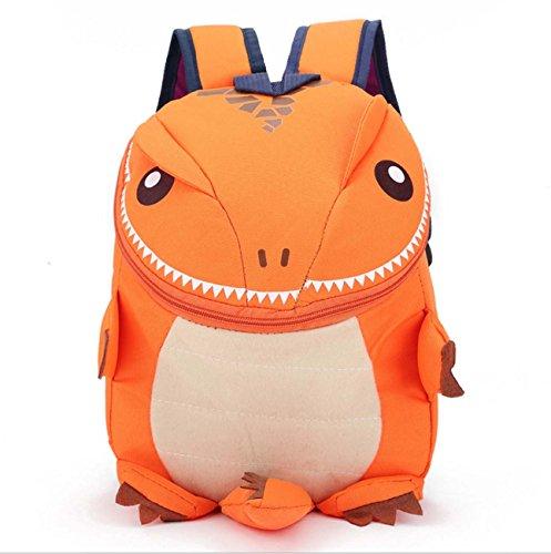 Zaino del sacchetto di viaggio di stile del mostro del fumetto dello zaino dei bambini Orange