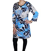 RoyaltyLane -  Maglia a manica lunga  - Parka - Paisley - Maniche lunghe  - 85 DEN - Donna