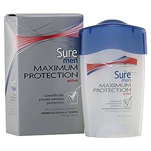 Sure Men Maximum Protection Active Antiperspirant Deodorant Cream